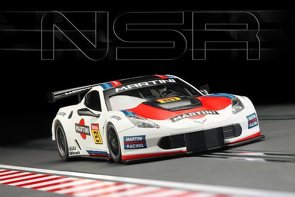 NSR-0159AW Corvette C7R Martini #21