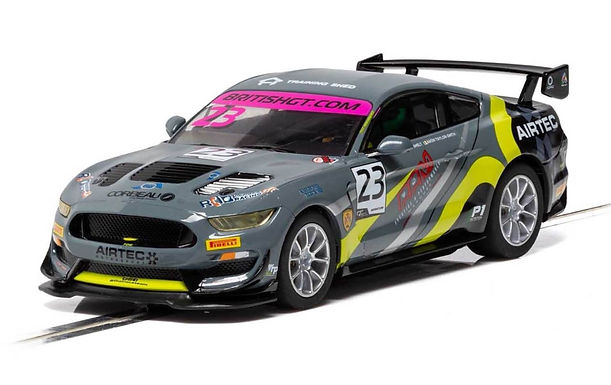 SCALEXTRIC-C4182 Ford Mustang GT4 - British GT 2019