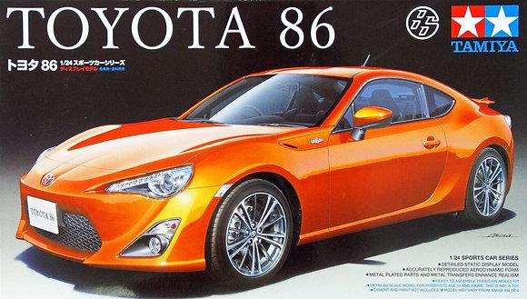 TAMIYA 24323 Toyota '86 Kit 1/24