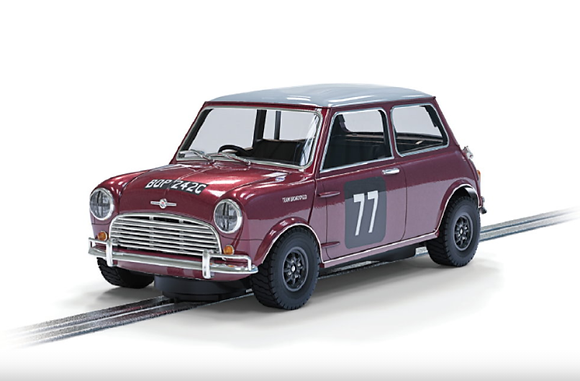SCALEXTRIC C4238 Future Release Morris Mini Cooper S #77 Broadspeed