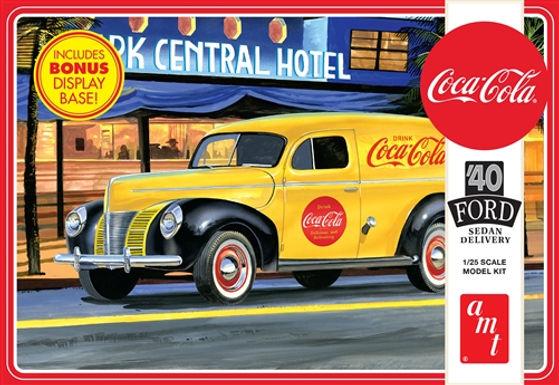 AMT-1161 1/25 1940 Ford Sedan Delivery (Coca Cola) Plastic Kit