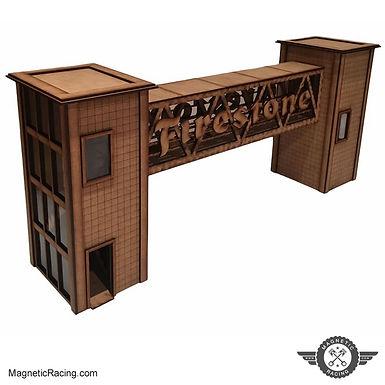 MAGNETIC RACING-007 Firestone Crosswalk 1:32 scale Kit