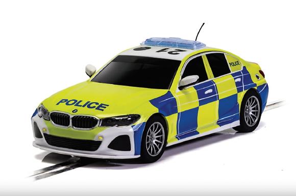 SCALEXTRIC-C4165 BMW 330i M-Sport Police Car