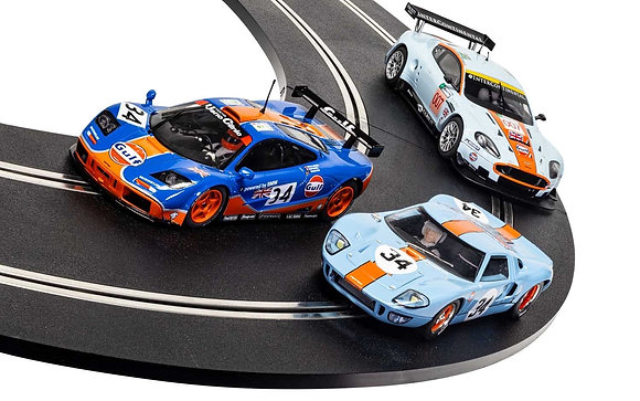 SCALEXTRIC C4109A Rofgo Collection Gulf Triple Pack