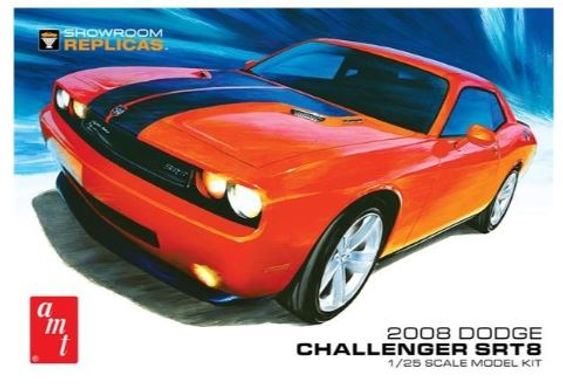 AMT-1075 2008 Dodge Challenger SRT8 Model Kit 1/25