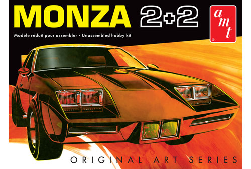 AMT 1019 Chevy Monza 2+2 Custom (Original Art Series) Model Kit 1/25