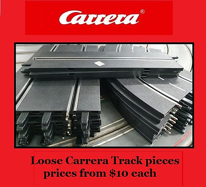 Carrera track pieces - loose packs