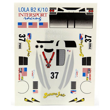 JK-7037ST 1/32 Lola B2 K/10 Decal Sheet