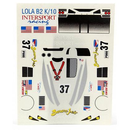 JK 7037ST 1/32 Lola B2 K/10 Decal Sheet
