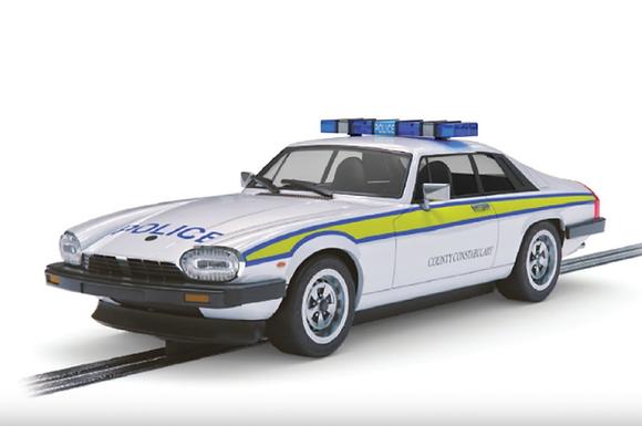 SCALEXTRIC-C4224 Future Release Jaguar XJS Police Edition