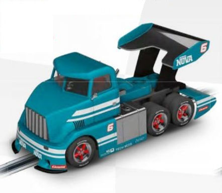 CARRERA-30989  Future Release Digital CARRERA-Race Truck Blue #6