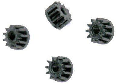 SCALEXTRIC W8200 Motor Pinions Blue (4)