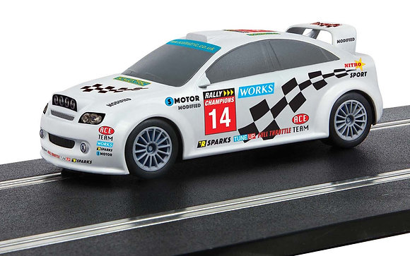 SCALEXTRIC C4116 Start Rally Car Team Modified