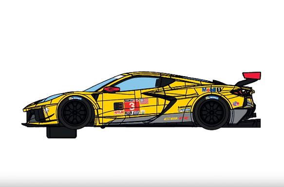 SCALEXTRIC-C4246 Future ReleaseChevrolet Corvette C8R #3 24hrs Daytona 2020