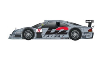 REVOSLOT-0094 Future Release Mercedes CLK D2 Black #11