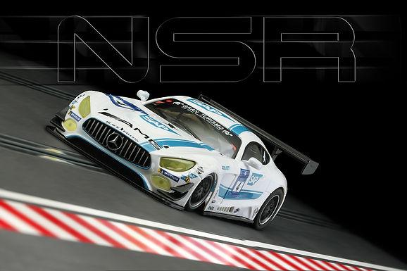 NSR-0122AW Mercedes AMG N/BERG #4 KG