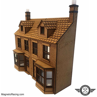 MAGNETIC RACING-021 Terraced House Low Relief 1:32 scale Kit
