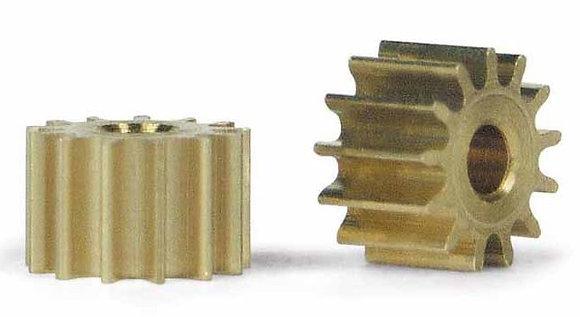 SLOT.IT PS13 13T Sidewinder Brass Pinion Gear (6.5mm)