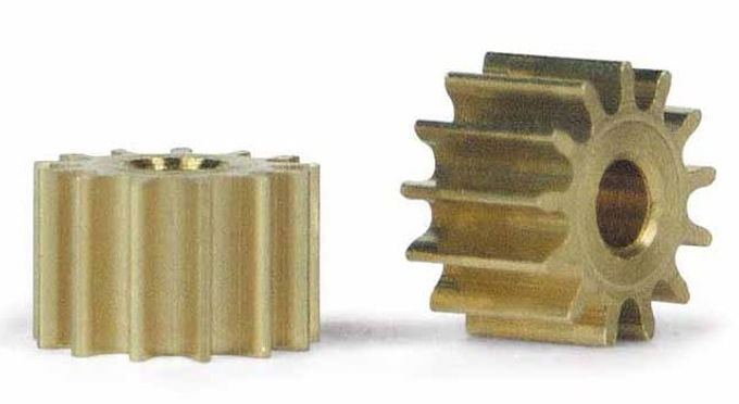 SLOT.IT-PS13 13T Sidewinder Brass Pinion Gear (6.5mm)
