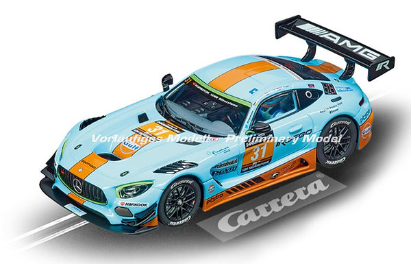 CARRERA-30870 Digital Mercedes-AMG GT3 Gulf Racing, No.31, Silverstone 12h