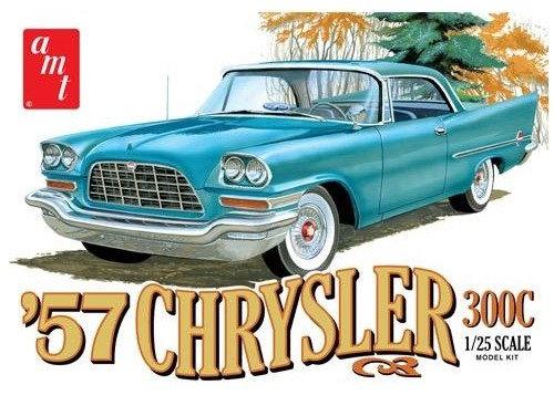 AMT 1100 1957 Chrysler 300 Model Kit 1/25