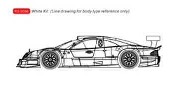 REVOSLOT-0096 Future Release Mercedes CLK White Kit