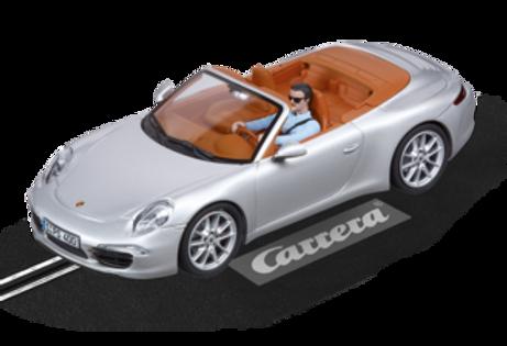 CARRERA-27535 Evo Porsche 911 CARRERA-S Cabriolet (silver)