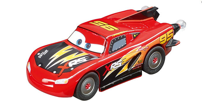 CARRERA GO!!!-64163 Disney Pixar Cars - Lightning McQueen - Rocket Race