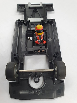 SCALEXTRIC W9601 Underpan Chassis with front Axle