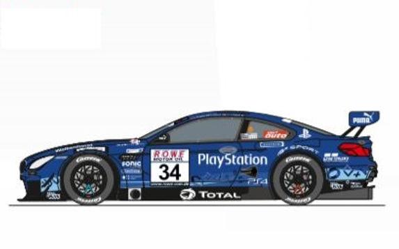 CARRERA-30984  Future Release Digital BMW M6 GT3 #34