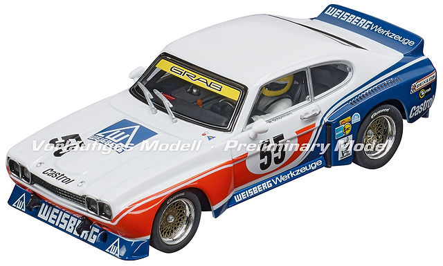 "CARRERA-30927 Digital Ford Capri RS 3100 ""No.55"", DRM 1975"