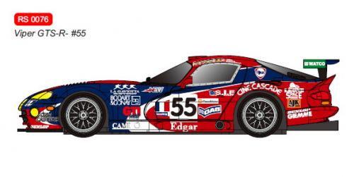 RevoSlot  Future Release 0076 Dodge Viper GTS-R No.55 Le Mans 2001