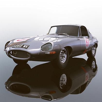 SCALEXTRIC C3952 Jaguar E-Type Nurburgring 1000KM 1963S