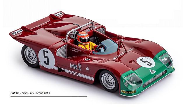 SLOT.IT-CA11M Alfa Romeo 33/3 - Pocono 2011 #5