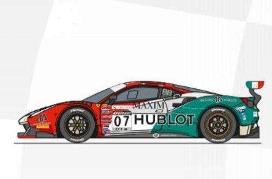 CARRERA-30999  Future Release Digital Ferrari 488 GT3 #7