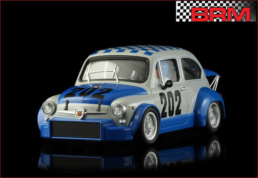 BRM/TTS 086 Fiat Abarth 1000 TCR 1971 #202