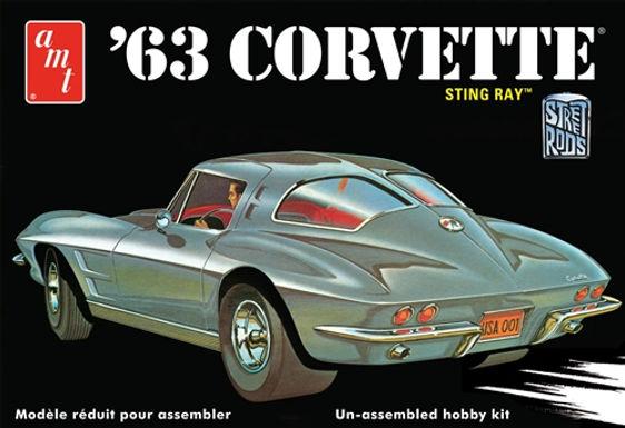 AMT-861 1/25 Chevy Corvette Plastic Kit