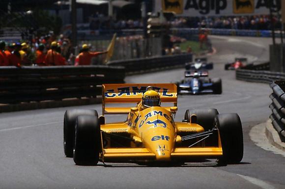 SCALEXTRIC-C4251 Future Release Lotus 99T #12 Monaco GP 1987