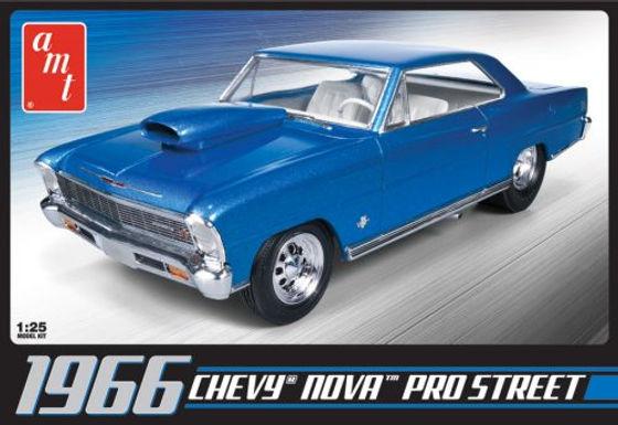 AMT-636 1/25 1966 Chevy Nova Pro Street Plastic Kit