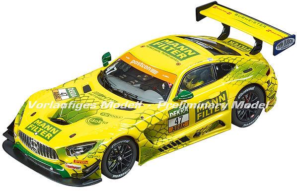 CARRERA-30910 Digital Mercedes AMG GT3 Mann Filter Team HTI