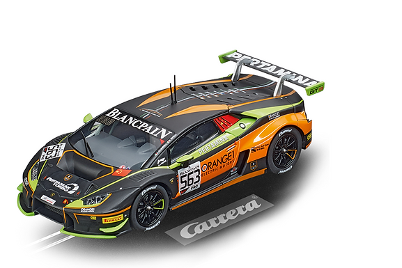 CARRERA 30914 Digital Lamborghini Huracan Orange1 FFF Racing Team