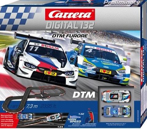 CARRERA 30008 Digital DTM Furore Wireless Slot Car Set