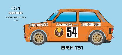 BRM/TTS-131 Future Release - A112 ABARTH - JAGERMEISTER #54