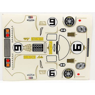 JK-71908ST Classic Decal Sheet - Lola T70 Sunoco