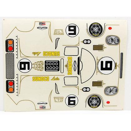 JK 71908ST Classic Decal Sheet - Lola T70 Sunoco