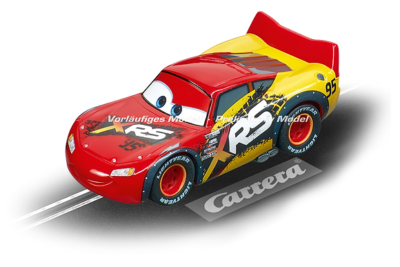 CARRERA 64153 GO!!! Disney Pixar Cars Lightning McQueen Mud Racers