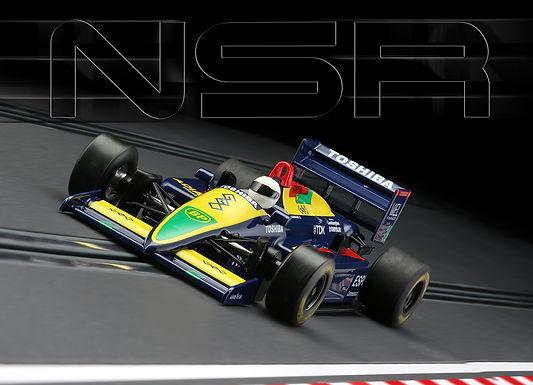 NSR-0182IL Formula 86/89 Blue Toshiba #29 IL KING 21 EVO3