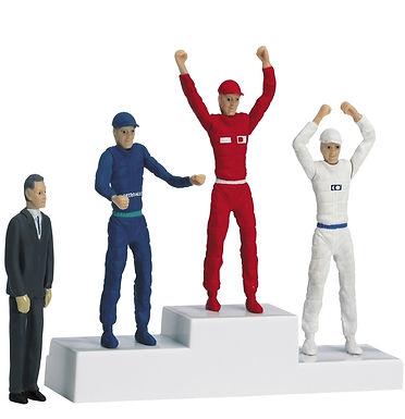 CARRERA-21121 Winners Podium Set with 4 Figures