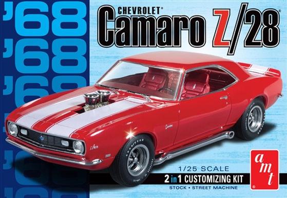 AMT-868 1/25 1968 Camaro Z/28 Plastic Kit