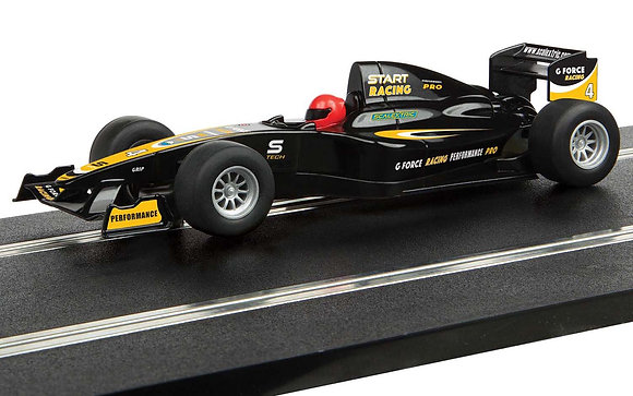 SCALEXTRIC C4113 Future Release Start F1 Racing Car G Force Racing